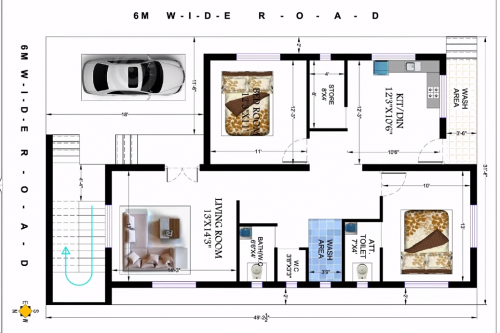 32x50 house plans