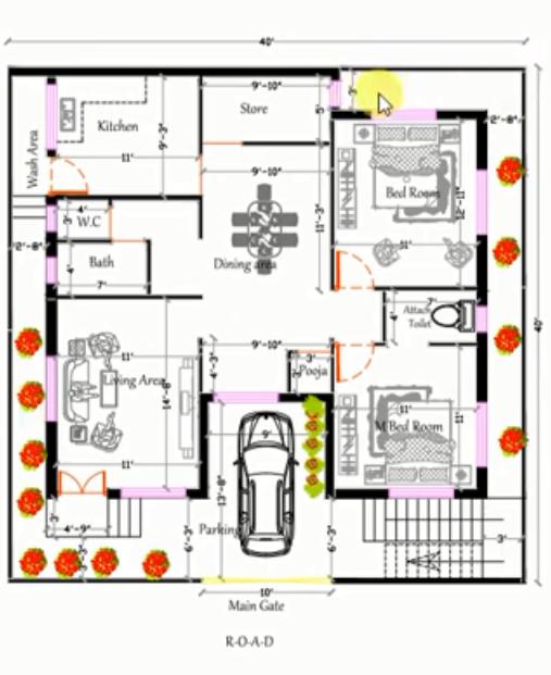 1600 sq ft house plan