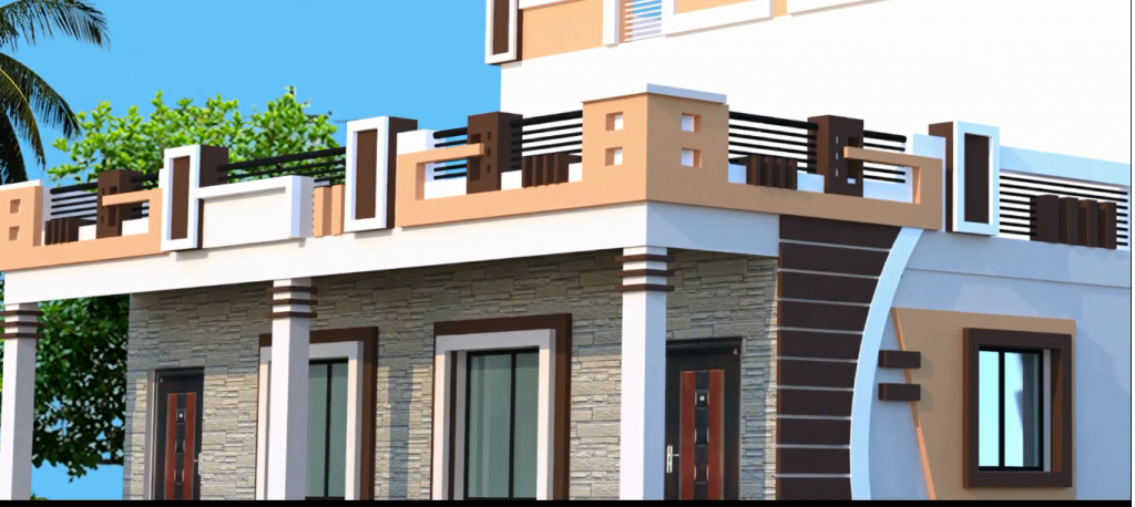 Front wall design