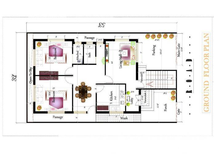 2 storey house plan