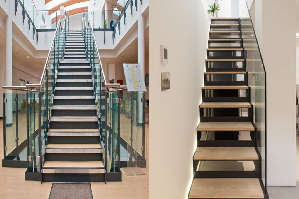different types of staircase