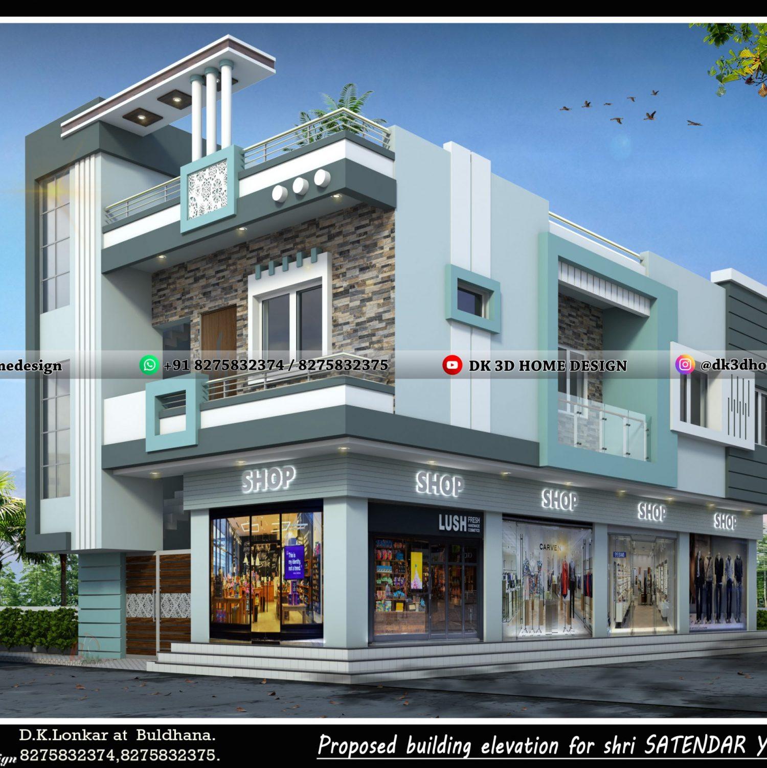 Shop house design