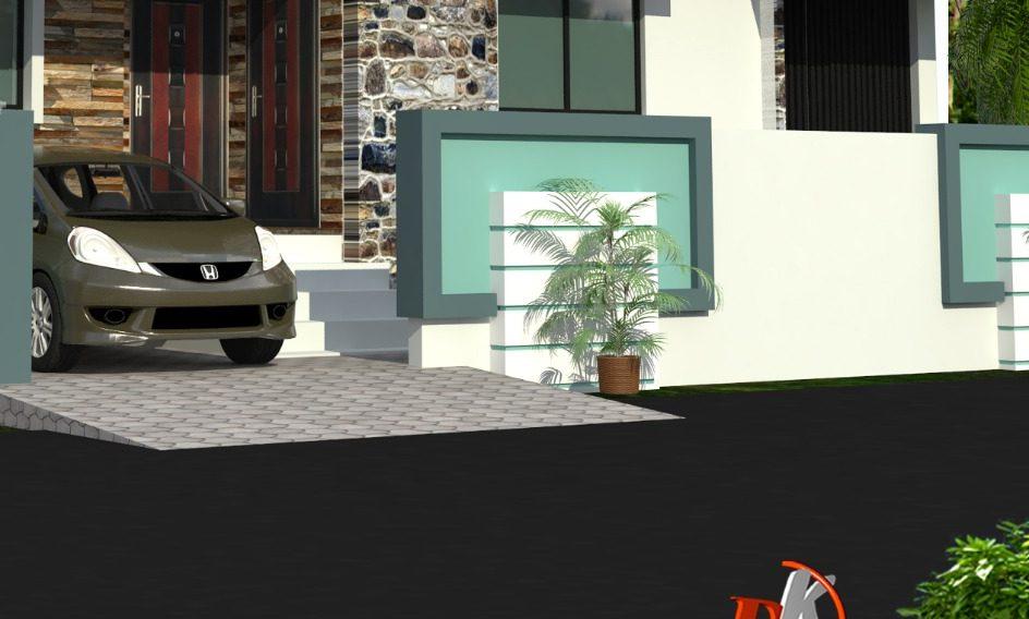 modern boundary wall design