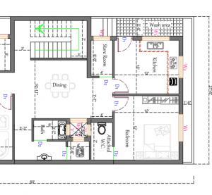 30 * 60 house plan