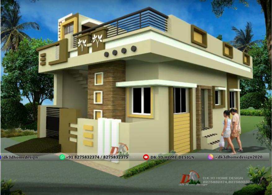 1000 square feet house design