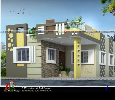 1000 sq ft house design