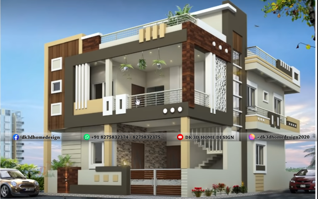 30*50 house front design