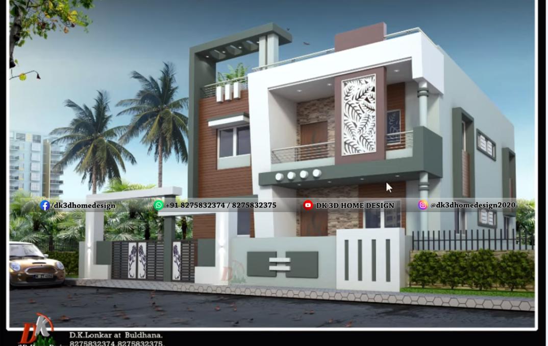 2000 square feet house design