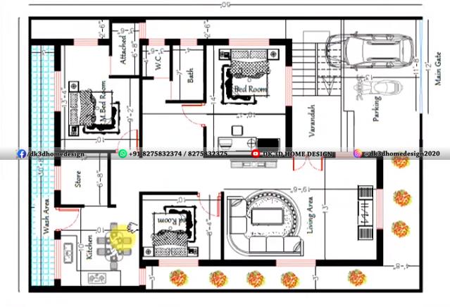 35x50 house plan