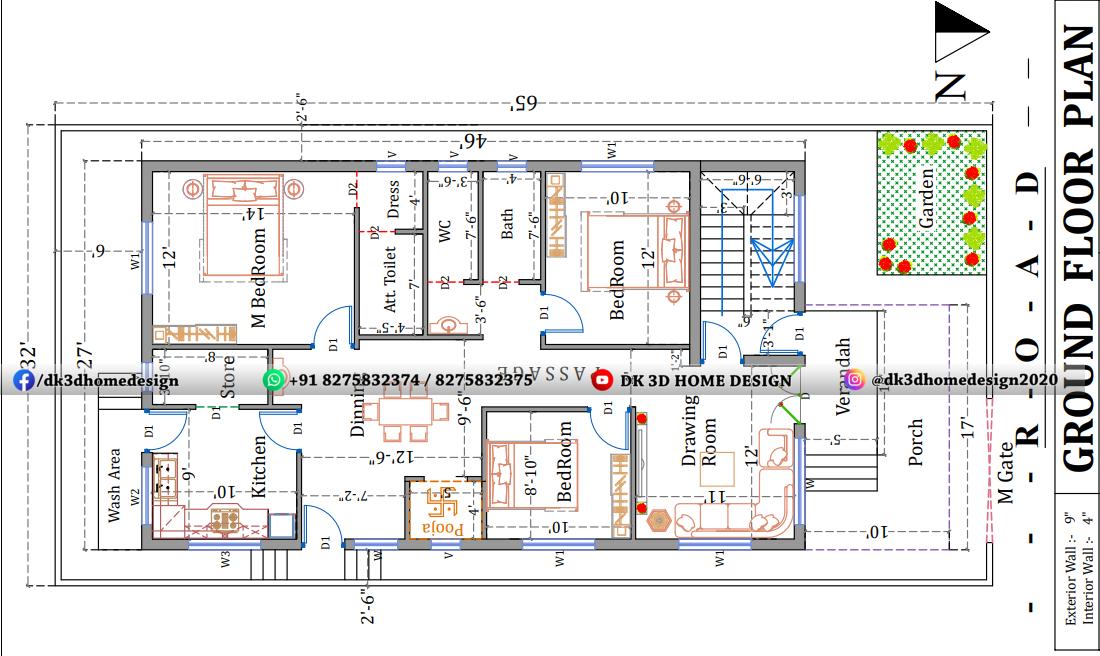 30*65 house plan