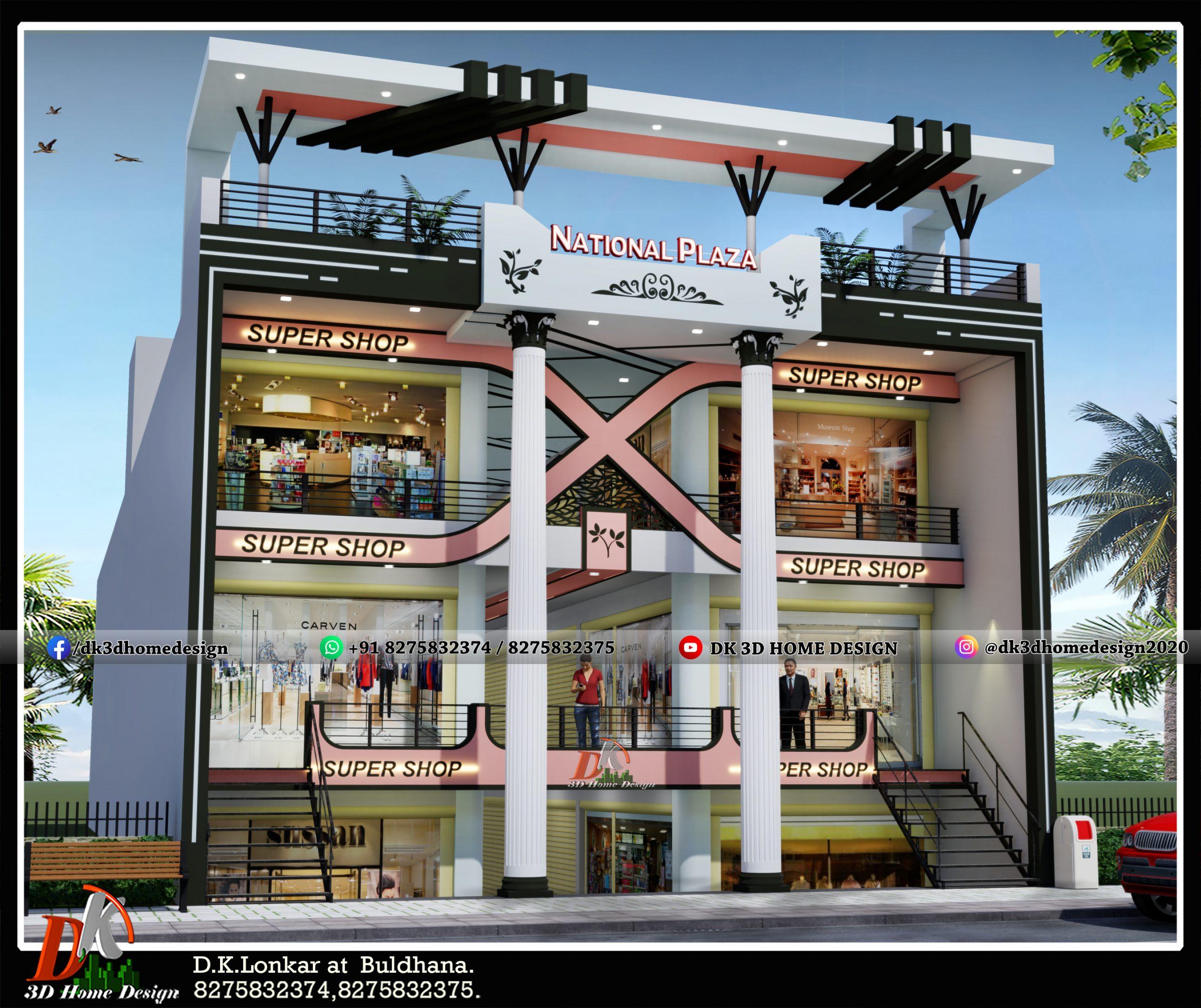 3 story house design